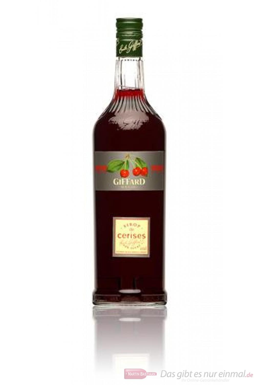Giffard Cherry Kirsch Sirup 1,0l Flasche