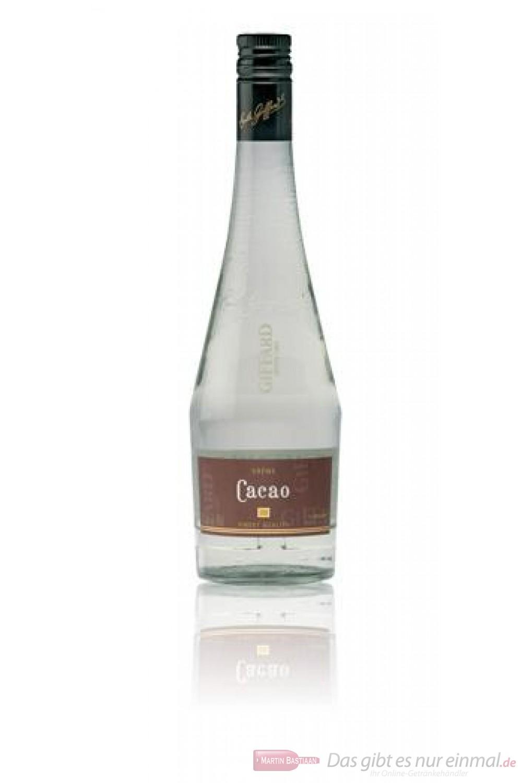 Giffard Creme de Cacao blanc Likör 25 % 0,7 l Flasche