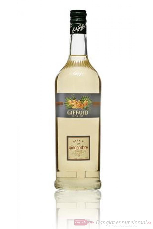 Giffard Gingerbread Sirup Lebkuchen 1,0l Flasche