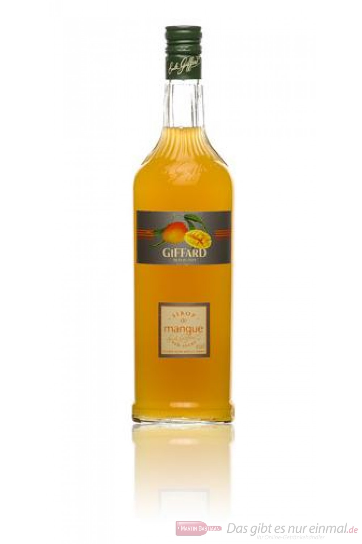 Giffard Mango Sirup 1,0 l Flasche