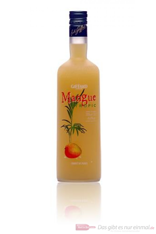 Giffard Mangue Tropic Likör 18% 0,7l Flasche