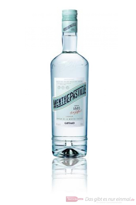 Giffard Menthe Pastille Likör 24 % 0,7 l Flasche