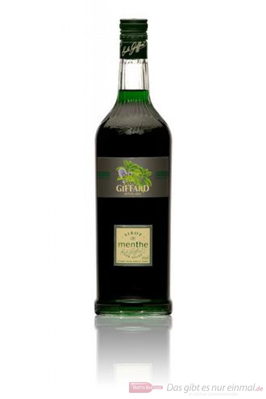 Giffard Mint Fizz Pfefferminz Sirup 1,0 l Flasche