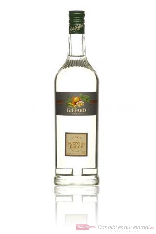 Giffard Rohrzucker Cane Sugar Sirup 1,0l Flasche