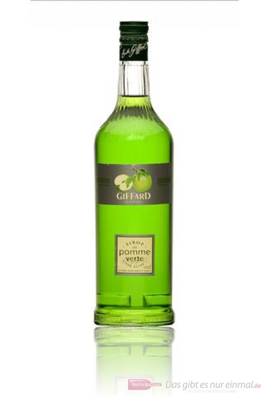 Giffard Sirup Green Apple (Grüner Apfel) 1,0l Flasche