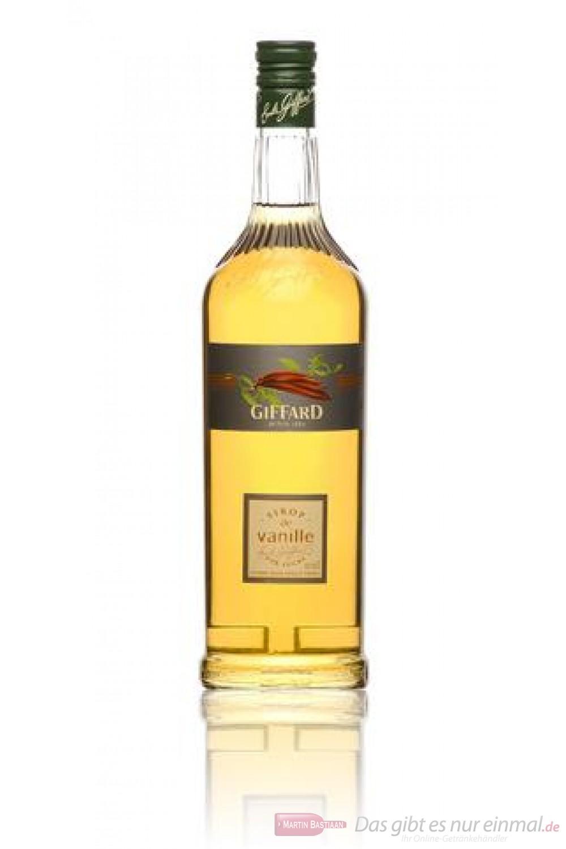 Giffard Sirup Vanillie1,0 l Flasche