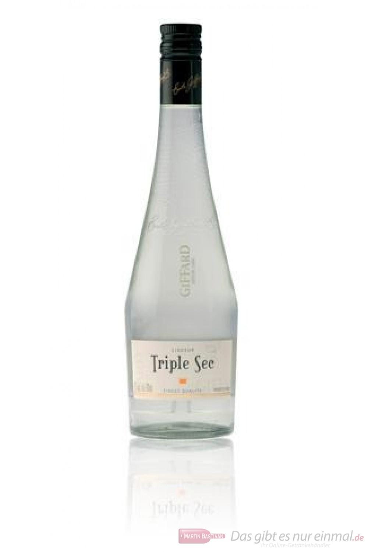 Giffard Triple Sec Likör 25 % 1,0 l Flasche