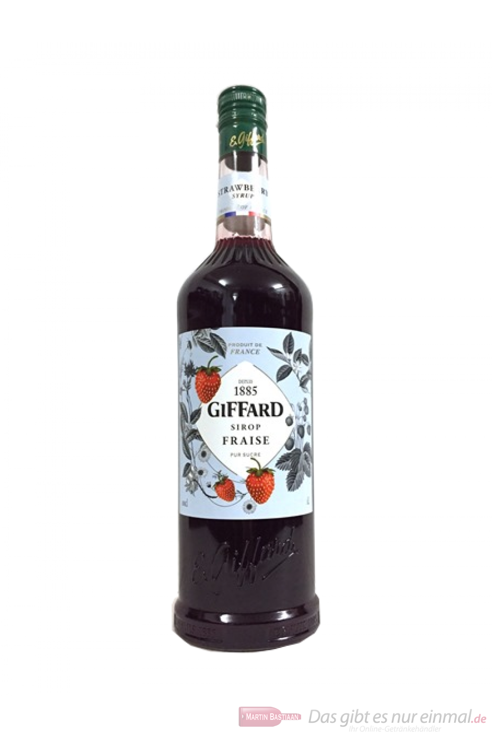 Giffard Sirup Strawberry Erdbeere 1,0 l