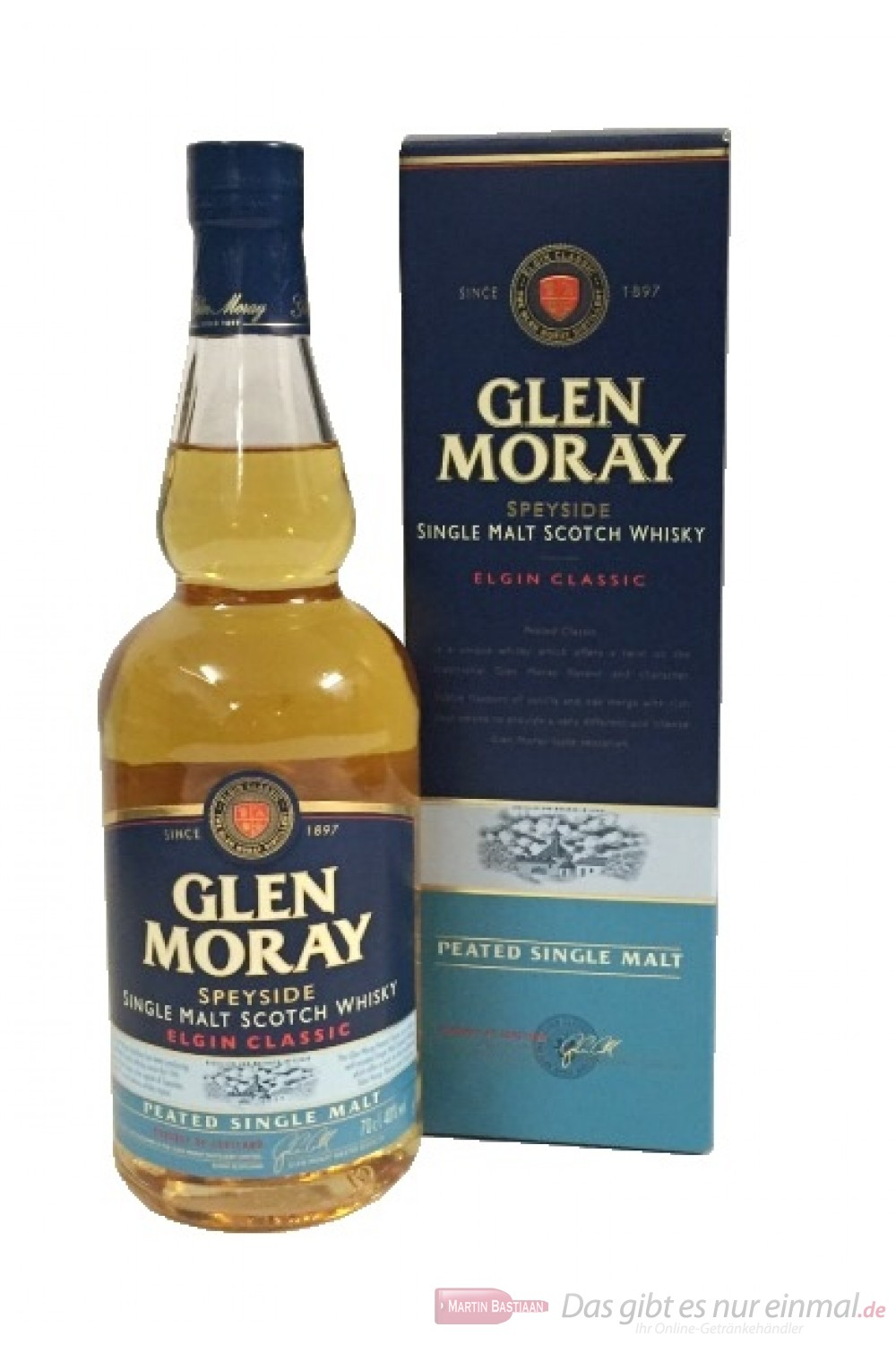 Glen Moray Elgin Classic Peated