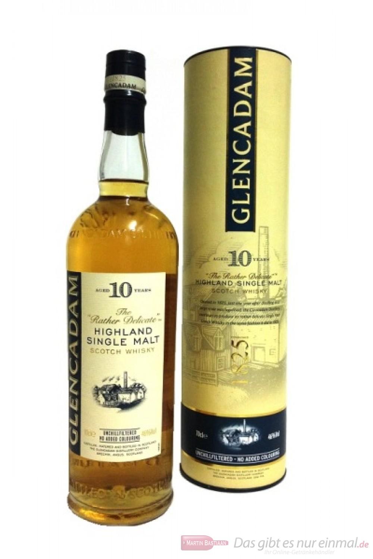 Glencadam 10 Years