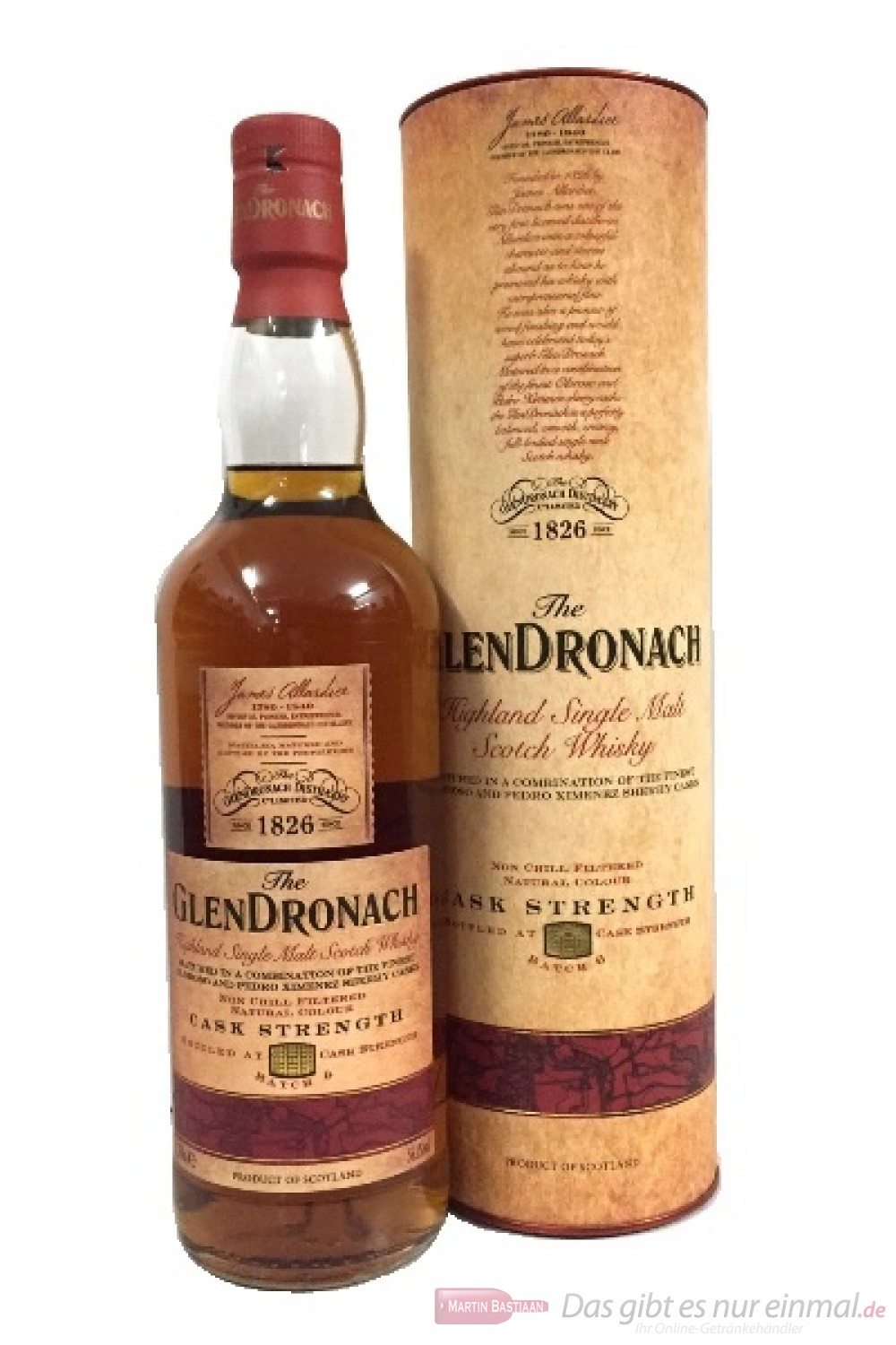 Glendronach Cask Strength Batch No. 6