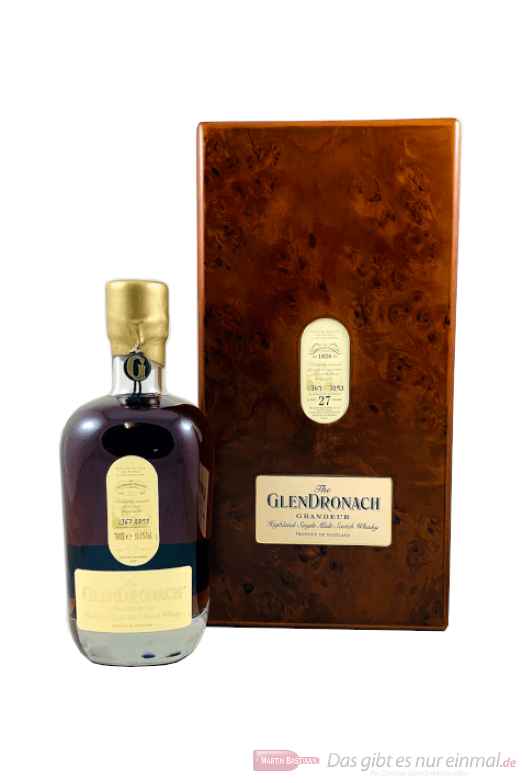 Glendronach 27 Years Grandeur Batch No.10 Scotch Whisky 0,7l