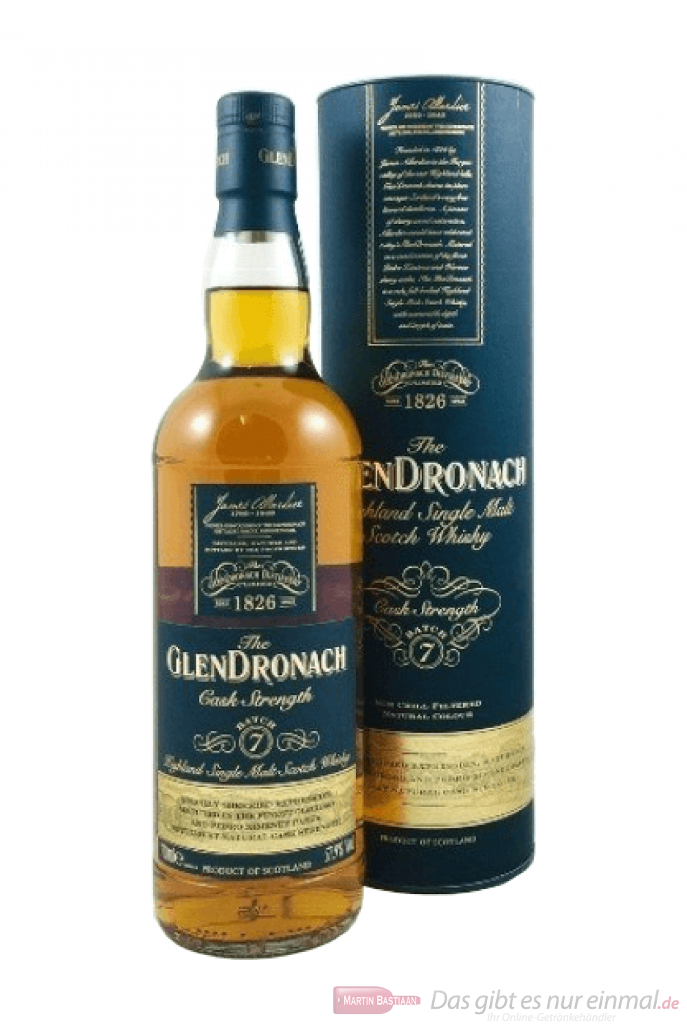Glendronach Cask Strength Batch No. 7