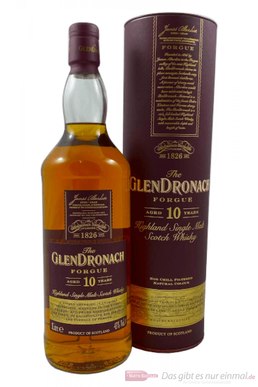Glendronach Forgue 10 Years Single Malt Scotch Whisky 1,0l