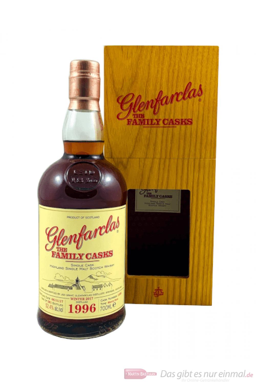 Glenfarclas The Family Casks Single Cask Sherry Butt 1996 Whisky 0,7l