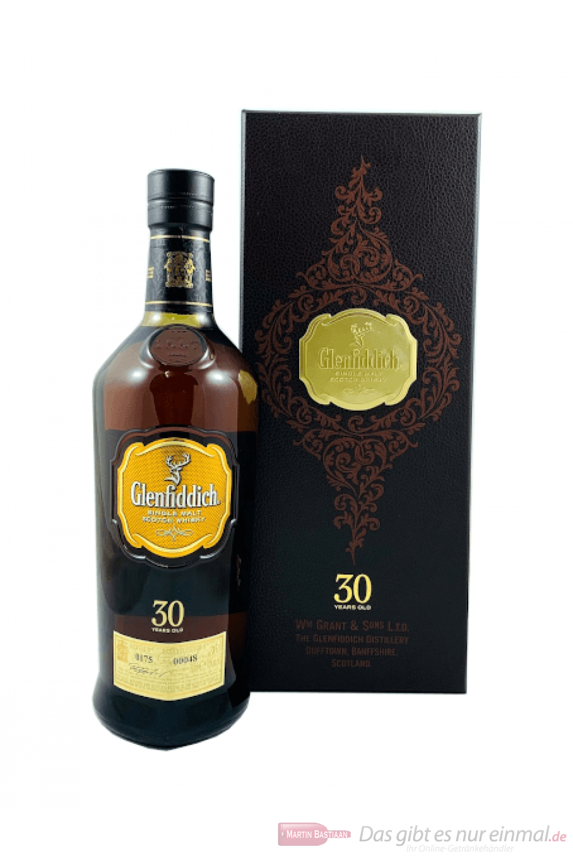 Glenfiddich 30 Years Single Malt Scotch Whisky 0,7l