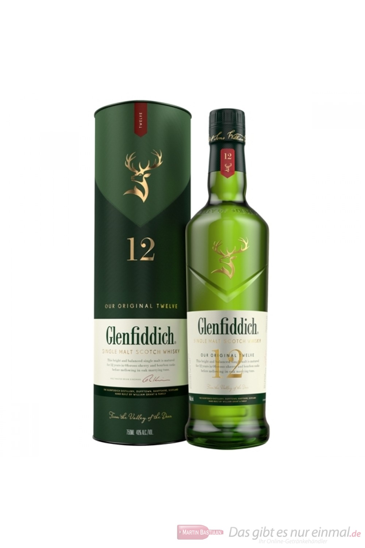 Glenfiddich 12 Years New Design