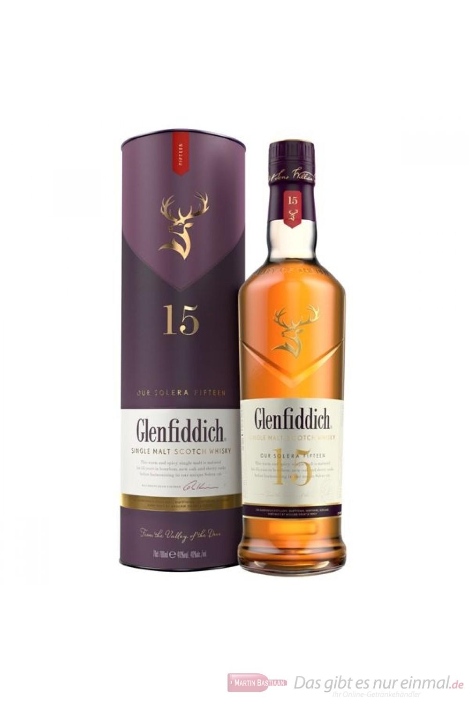 Glenfiddich 15 Years New Design