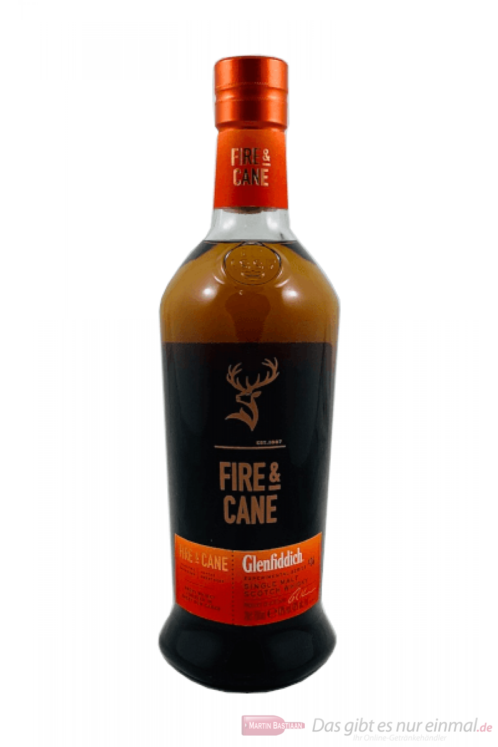 Glenfiddich Fire & Cane Single Malt Scotch Whisky 0,7l
