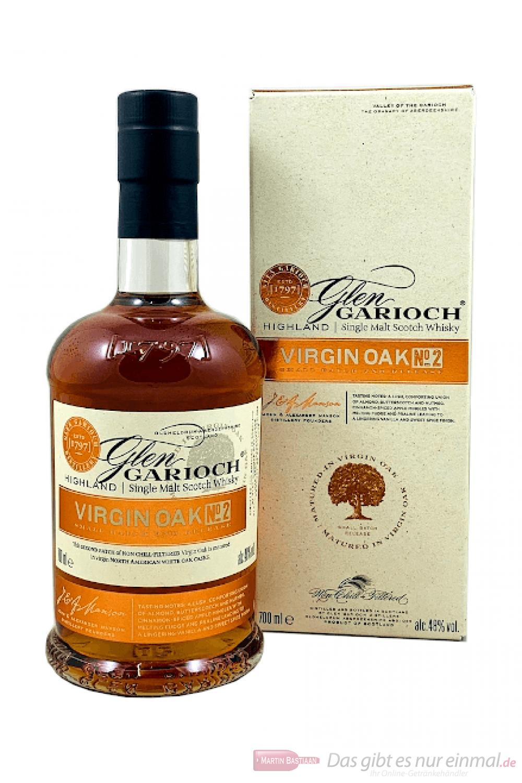 Glen Garioch Virgin Oak No. 2 Single Malt Scotch Whisky 0,7l