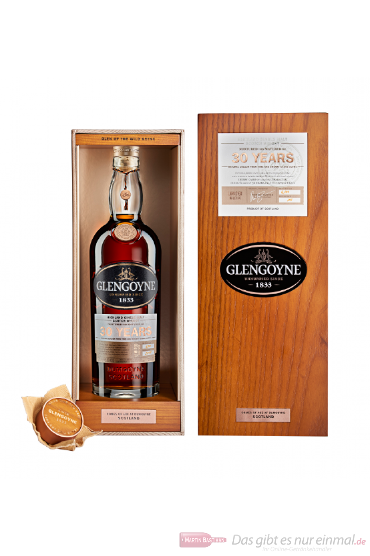 Glengoyne 30 Jahre