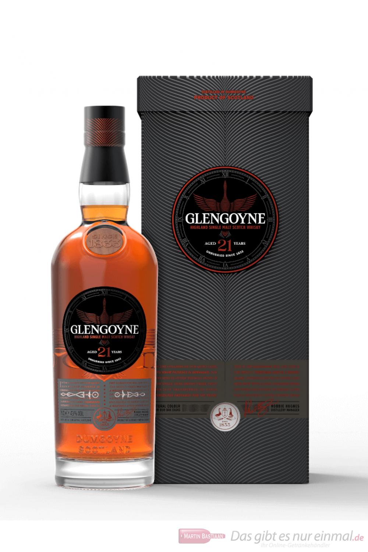 Glengoyne 21 Jahre Highland Single Malt Scotch Whisky 0,7l