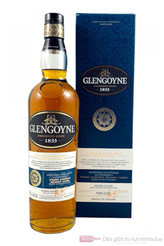 Glengoyne Pedro Ximenez Sherry Casks Single Malt Whisky 0,7l