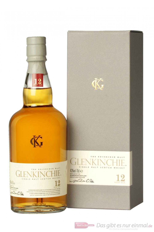 Glenkinchie 12 years Single Lowland Pure Malt Scotch Whisky 43 % 0,7l Flasche