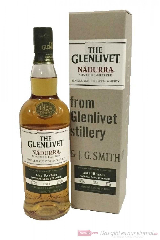 The Glenlivet 16 Years Nadurra Natural Cask Strength 60,2%