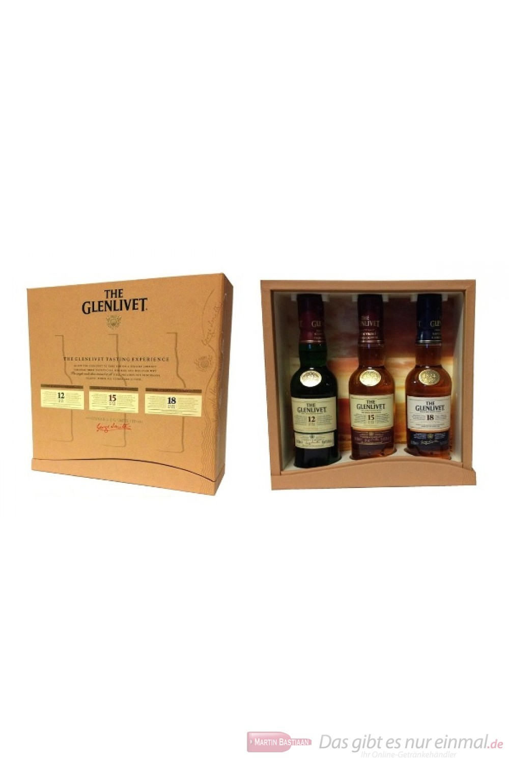 The Glenlivet Probierset