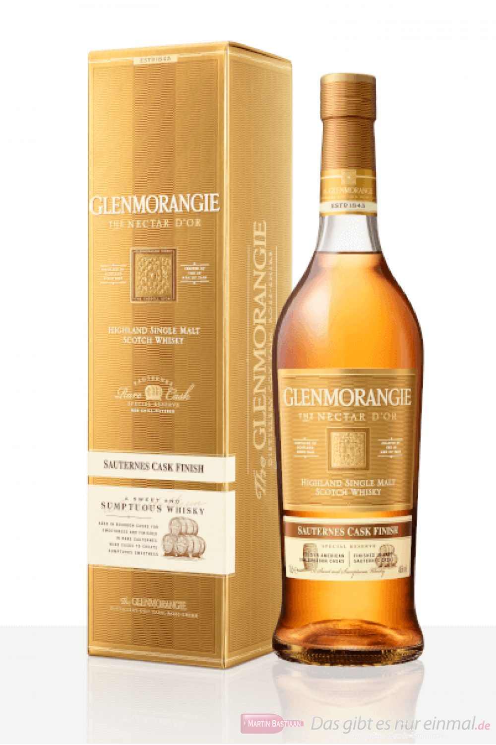 Glenmorangie The Nectar d'Or Highland Single Malt Scotch Whisky 0,7l