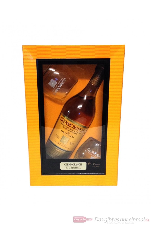 Glenmorangie Original in Geschenkverpackung mit 2 Gläsern