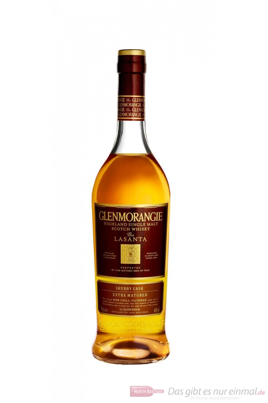 Glenmorangie The Lasanta Highland Pure Malt Scotch Whisky 46% 0,70l Flasche