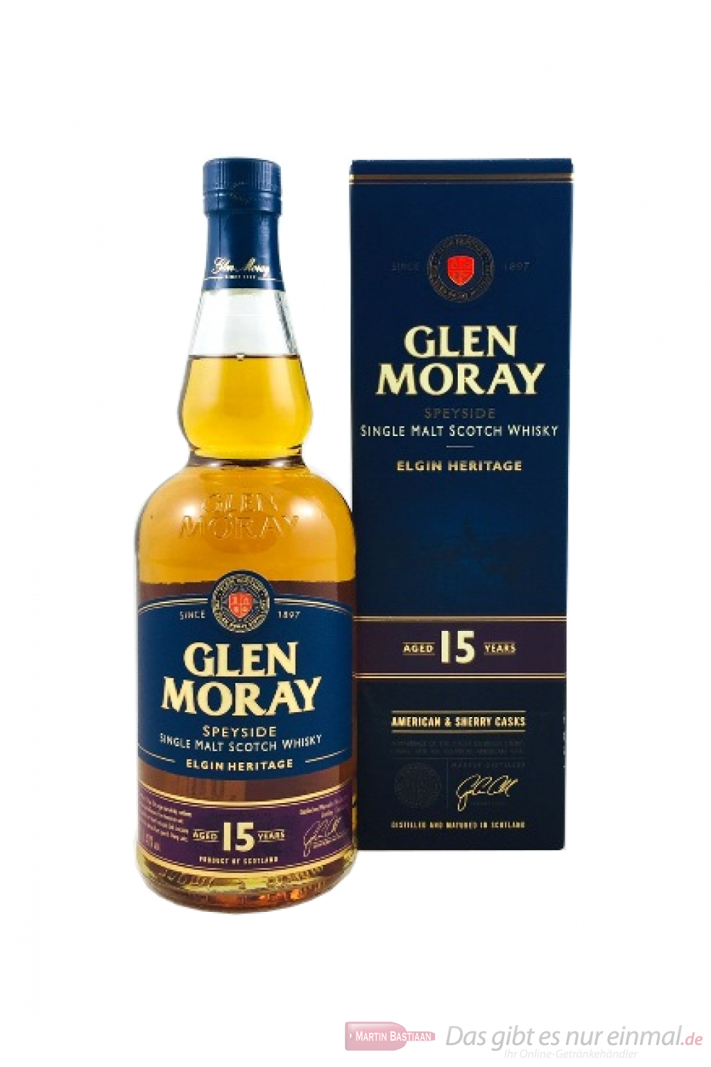 Glen Moray 15 Years