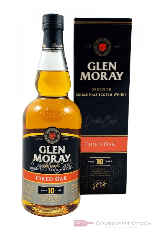Glen Moray 10 Years Fired Oak Single Malt Scotch Whisky 0,7l