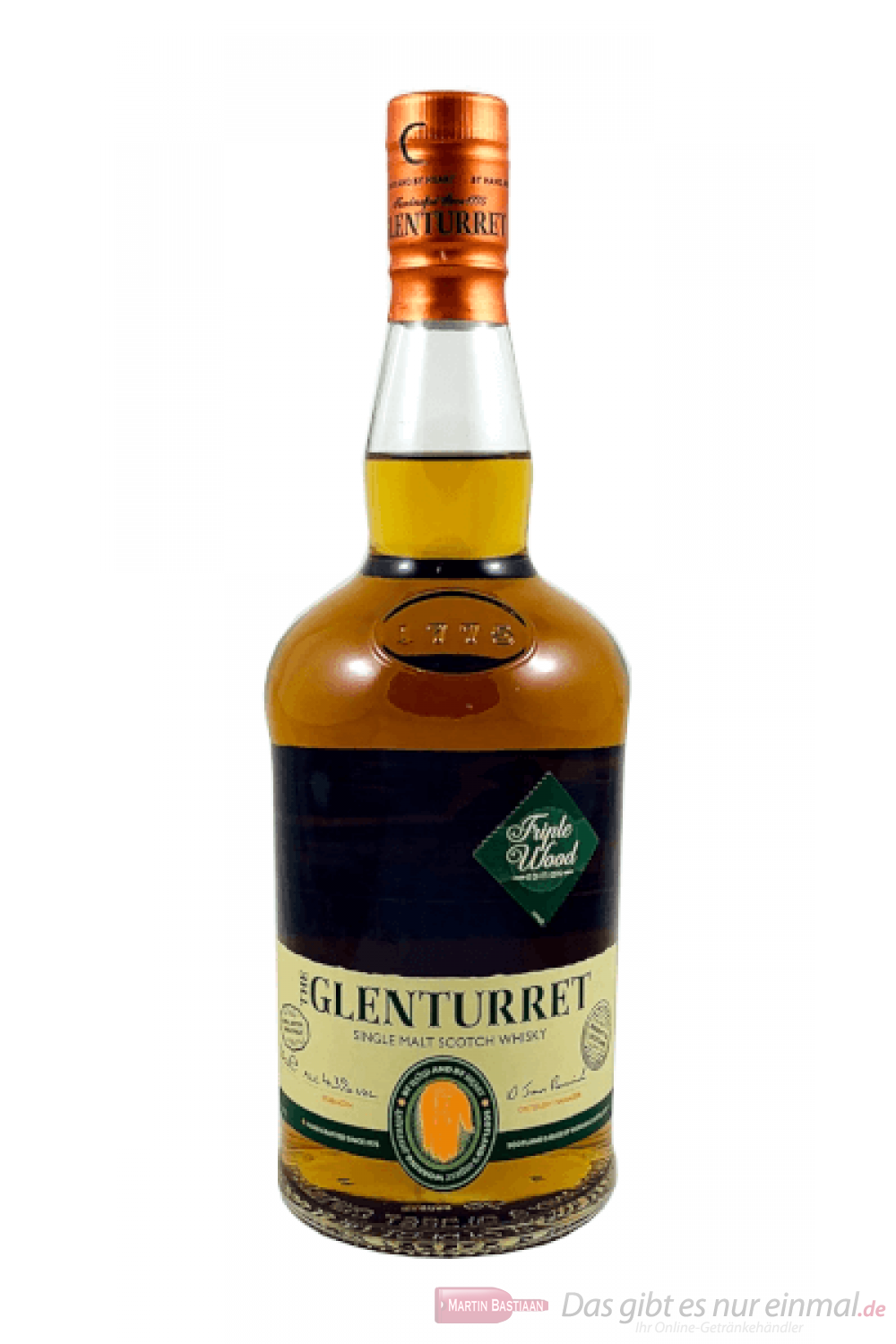Glenturret Triplewood Single Malt Scotch Whisky 0,7l