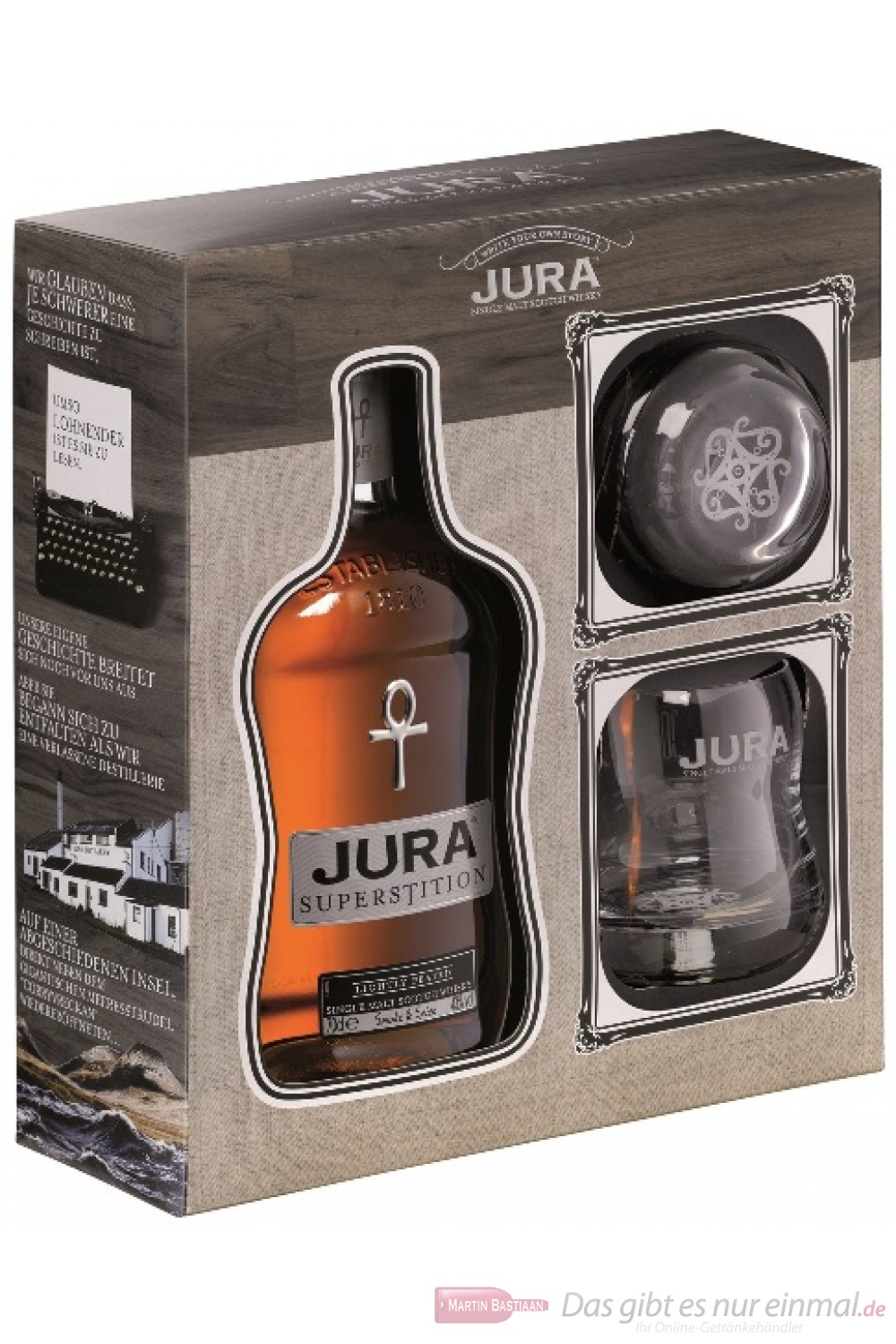 Isle of Jura Superstition Geschenkset