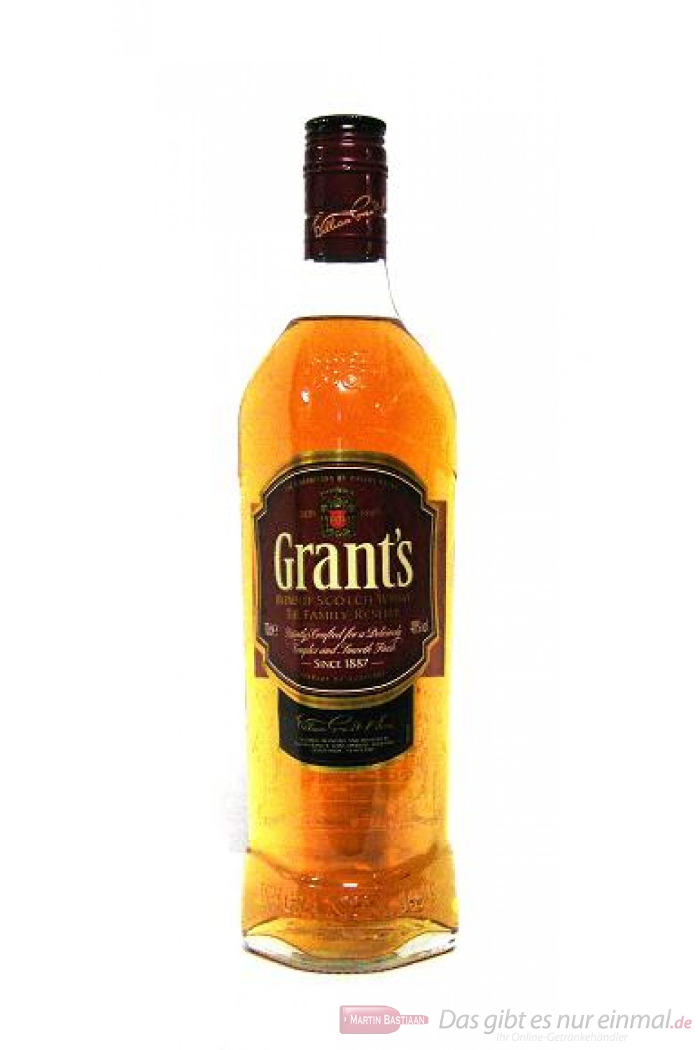 Grant´s Blended Scotch Whisky 40 % 1,0l Flasche