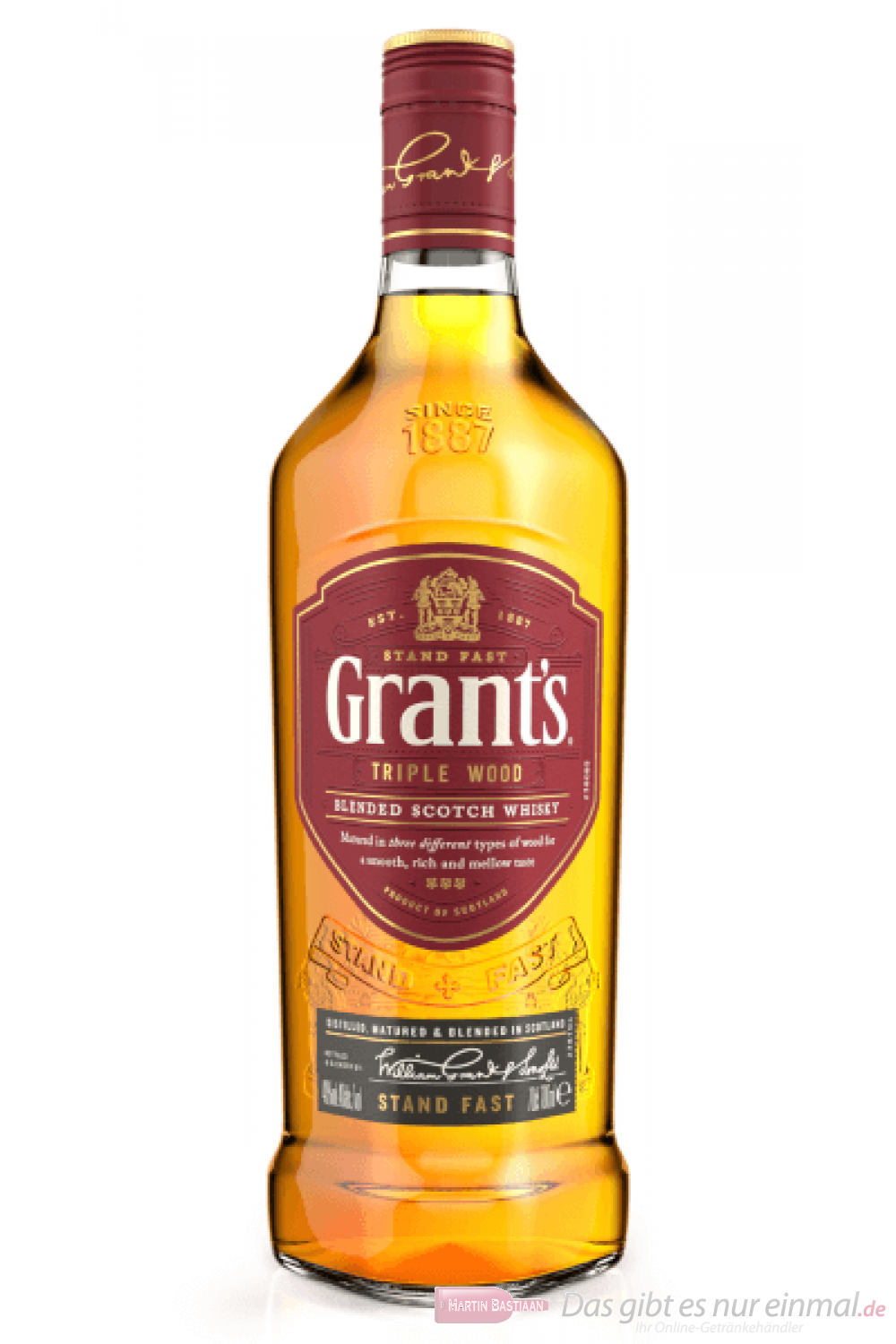 Grants Triple Wood Blended Scotch Whisky