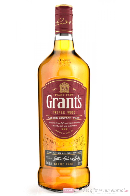 Grants Triple Wood Blended Scotch Whisky 1,0l