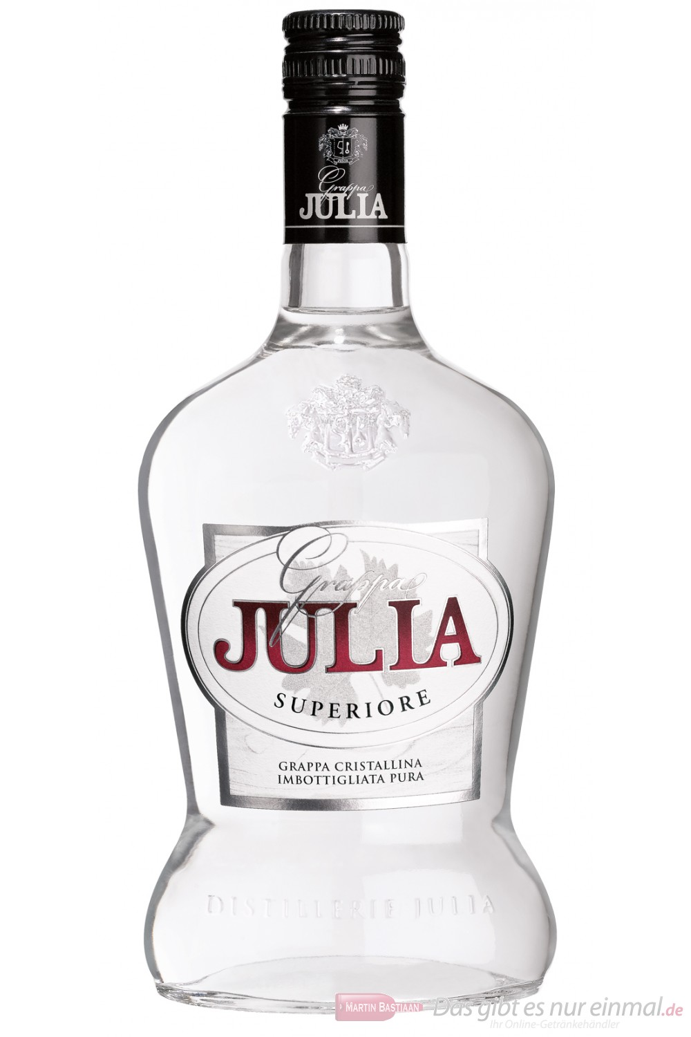 Grappa JULIA Superiore 38% 0,7l Flasche