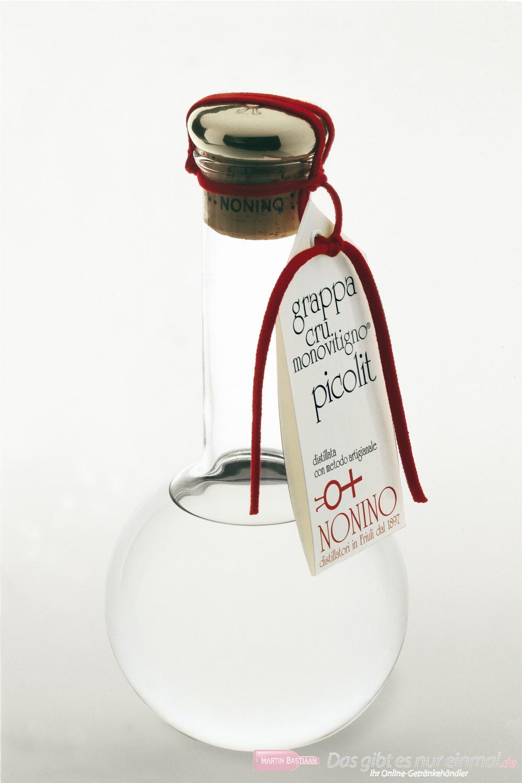 Grappa Nonino Cru Monovitigno Picolit 50 % 0,5l Flasche