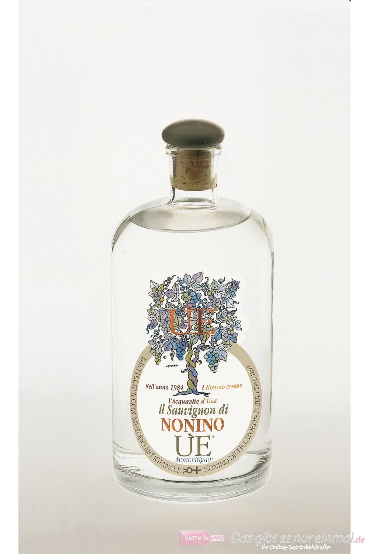 Grappa Nonino I Vigneti  UE Monovitigno Il Sauvignon 38 % 0,7l Flasche