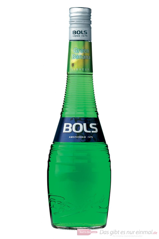 Bols Green Banana Likör 17% Liqueur 0,7l