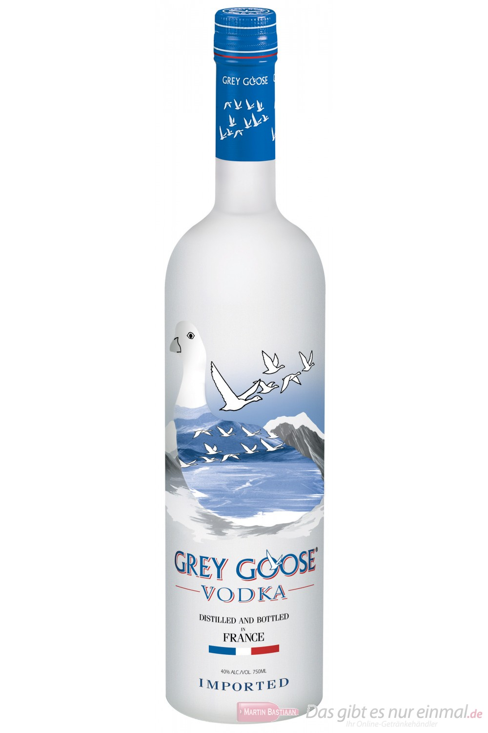 Grey Goose Wodka 40% 3,0 Vodka Flasche