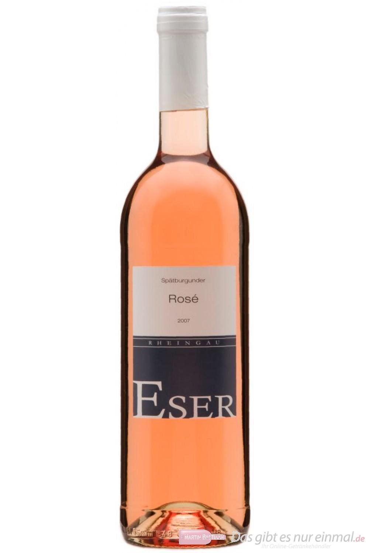 Hans Theo Eser Spätburgunder Rosé Qba trocken 2011 11,0% 0,75l Flasche