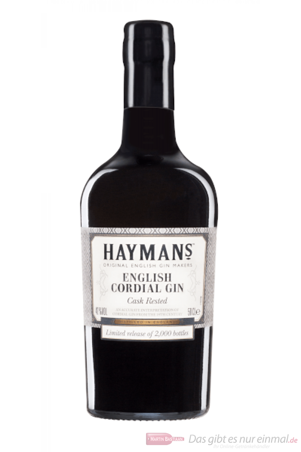 Hayman's English Cordial Gin Cask Rested 0,5l
