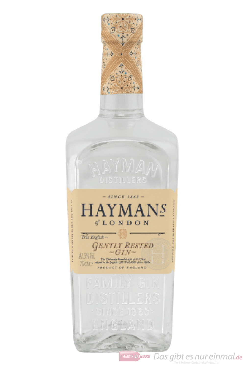 Hayman´s Gently Cask Rested Gin 0,7l