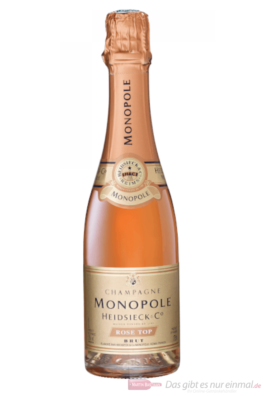 Heidsieck Monopole Rosé Top Brut Champagner 0,375l