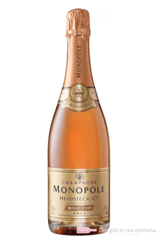 Heidsieck Monopole Rosé Top Brut Champagner 0,75l